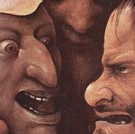 Hieronymus Bosch o imitatore - Salita al Calvario (dettaglio - 1510-1516 circa) - Olio su tavola - Gand, Museum voor Schone Kunsten
