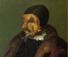 Giuseppe Arcimboldo - Il giurista  (1566) olio su tela, Mariefred, Gripsholm Castle